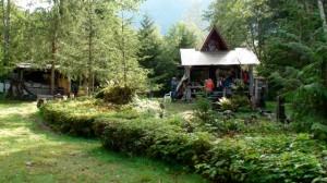 Trapper Rick's cabin