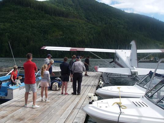 plane dockside