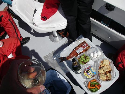 boat lunch