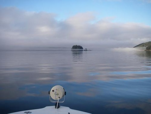 scenery of  Knight Inlet bc