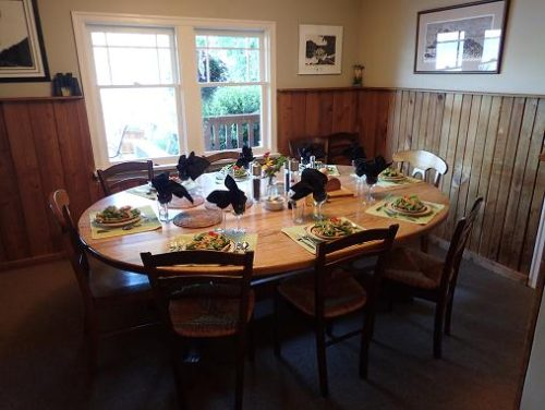 Grizzly Bear Lodge Dinner