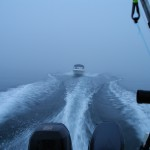 On the way to fish for salmon