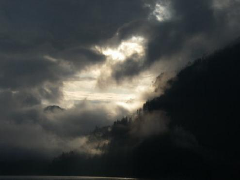 Knight Inlet, British Columbia.